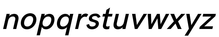 HK Grotesk SemiBold Legacy Italic Font LOWERCASE