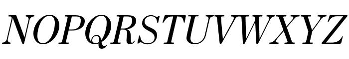 HK Venetian Italic Font UPPERCASE