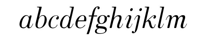 HK Venetian Italic Font LOWERCASE