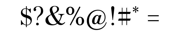 HK Venetian Regular Font OTHER CHARS
