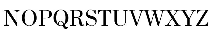 HK Venetian Regular Font UPPERCASE
