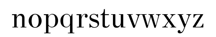 HK Venetian Regular Font LOWERCASE