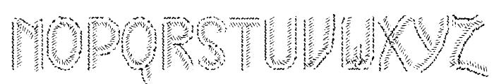 HKH Cold Cactus Font UPPERCASE