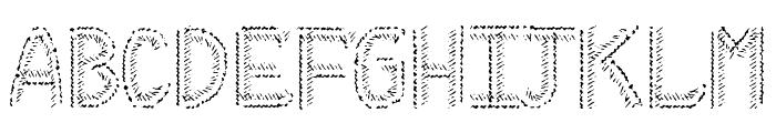 HKH Cold Cactus Font LOWERCASE