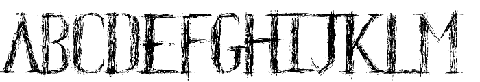 HKH Old Glyphs Demo Font LOWERCASE