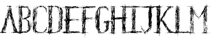 HKH Old Glyphs short Font LOWERCASE