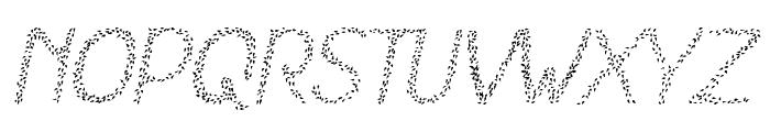 HKH Spring Buds Italic Font LOWERCASE