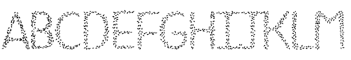 HKH Spring Buds Font LOWERCASE