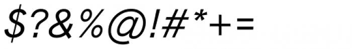 HK Grotesk Pro Medium Italic Font OTHER CHARS