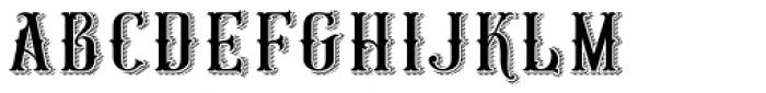 HKF Gold Queen DLC Drop Line Color Font LOWERCASE