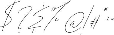 HLF - Black Caviar Slant otf (900) Font OTHER CHARS