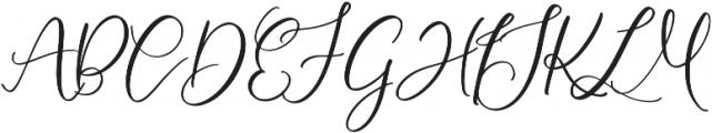 HLF - Montreal otf (400) Font UPPERCASE