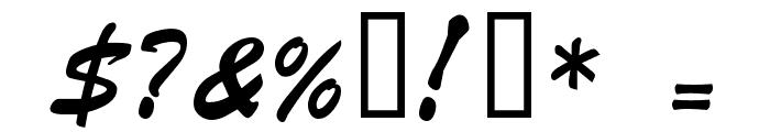 HL Butlong Font OTHER CHARS