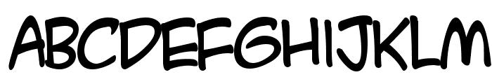 HL Comic2 Font LOWERCASE