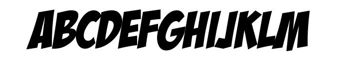 HL ComicBoom Font UPPERCASE