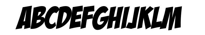HL ComicBoom Font LOWERCASE