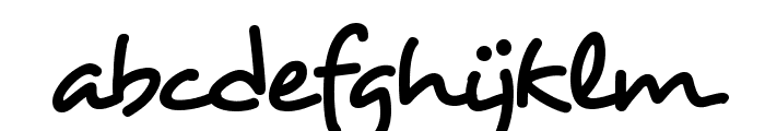 HL Dongian Font LOWERCASE