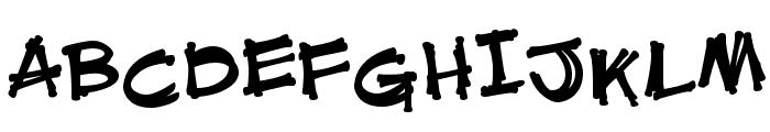 HL Fantasy1 Font UPPERCASE