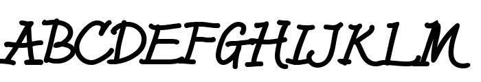 HL Fantasy3 Font UPPERCASE