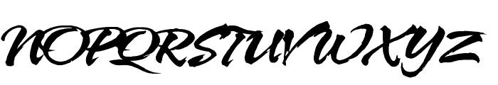 HL Netbutlong Font UPPERCASE