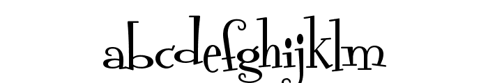 HL Thanhcao Font LOWERCASE