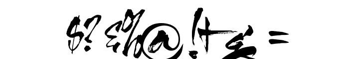 HL Thuphap 1BK upgrade Font OTHER CHARS