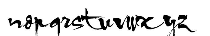 HL Thuphap 1BK upgrade Font LOWERCASE