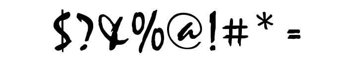 HL Thuphap 2BK Font OTHER CHARS