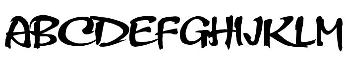 HL Thuphap 2BK Font UPPERCASE