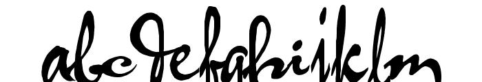 HL Thuphap 2BK Font LOWERCASE