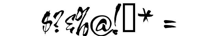 HL Thuphap 3BK upgrade Font OTHER CHARS
