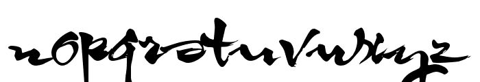 HL Thuphap 3BK upgrade Font LOWERCASE