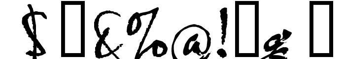 HL Thuphap 4BK Font OTHER CHARS