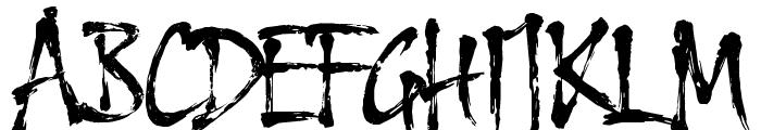 HL Thuphap 4BK Font UPPERCASE
