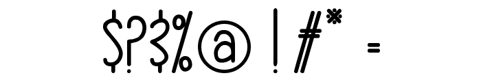 hlmt-rounded Font OTHER CHARS