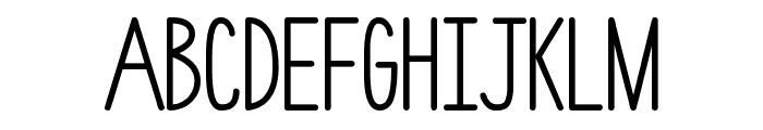 hlmt-rounded Font UPPERCASE