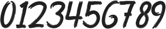 HMRILEBRUSH-Regular otf (400) Font OTHER CHARS