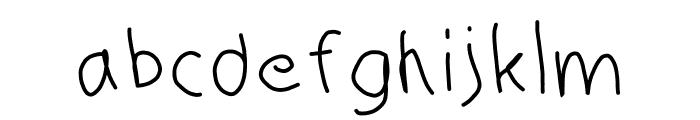 HM Keokuk Font LOWERCASE