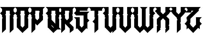 HMajorJackov-Regular Font LOWERCASE