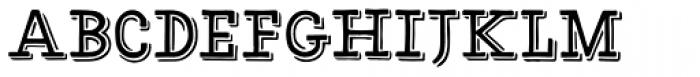 HMS Gilbert Slab Font LOWERCASE