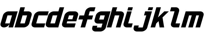 HNkani-Italic Font LOWERCASE