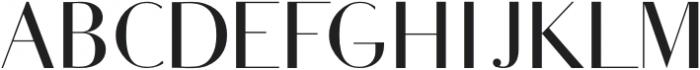 HOPIN-Regular otf (400) Font UPPERCASE