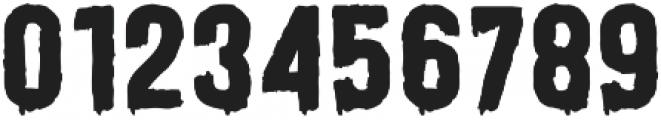 HORR-O-RAMA Invader otf (400) Font OTHER CHARS