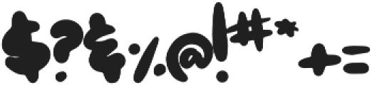 Hoagie otf (400) Font OTHER CHARS