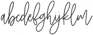 Hobbies otf (400) Font LOWERCASE
