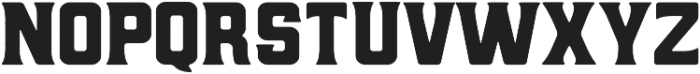 Hochstadt Serif ttf (400) Font UPPERCASE