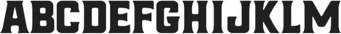 Hochstadt Serif ttf (400) Font LOWERCASE