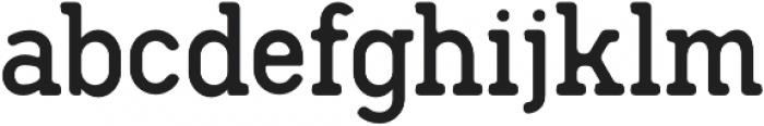 Hodgeson Round otf (400) Font LOWERCASE