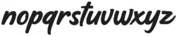 Hoffers Script otf (400) Font LOWERCASE