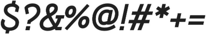 Hogar Slab Bold It otf (700) Font OTHER CHARS